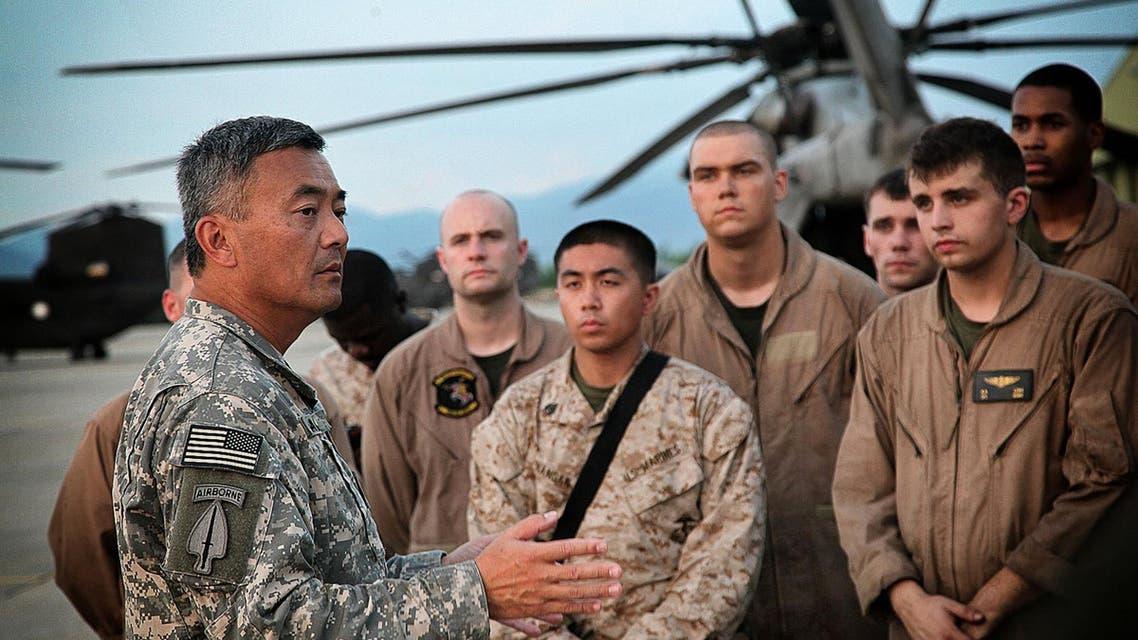 اللواء ميخائيل ناغاتا المسؤول العسكري الأميركي عن تدريب وتجهيز مقاتلي المعارضة السورية