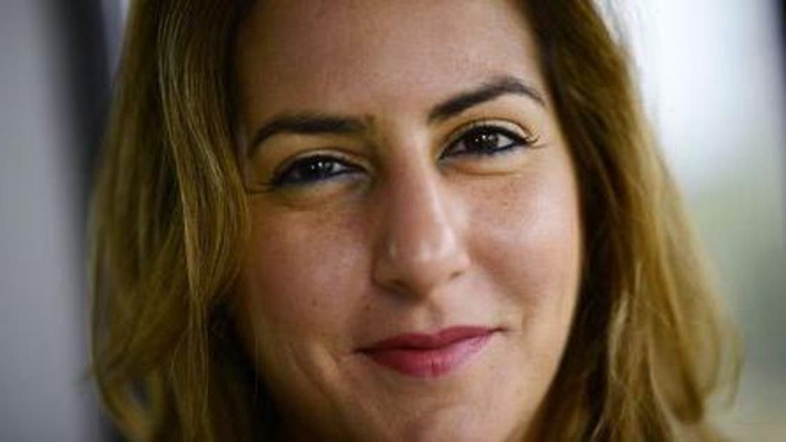 Karma Khayat of Lebanon poses for a photograph during an interview with Reuters in London, March 16, 2015. Reuters