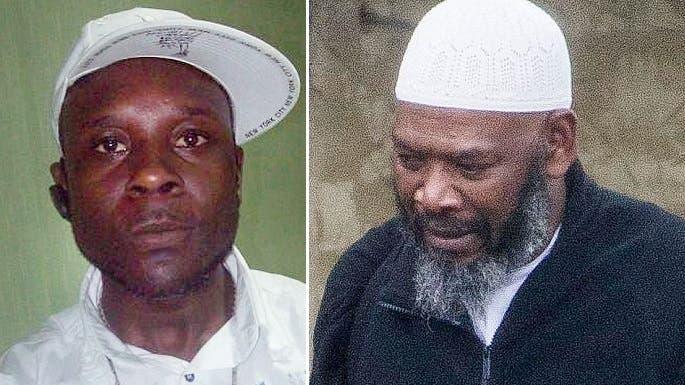 بورنل ميتشل شقيق المغنية وصورة الى اليسار للبريطاني من أصل جامايكي ليزلي كوبر قاتل العرواني
