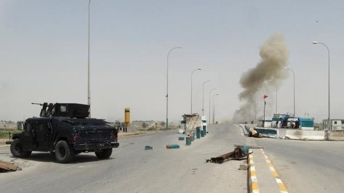 اشتباكات بين القوات العراقية وداعش في الرمادي