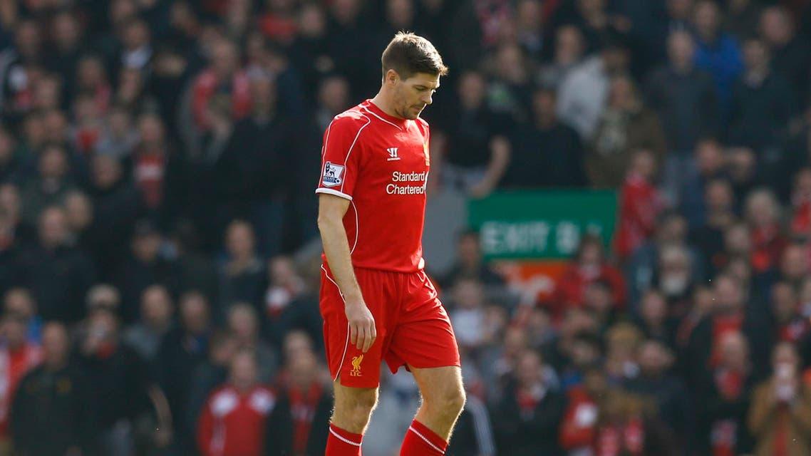 Liverpool's Steven Gerrard REUTERS