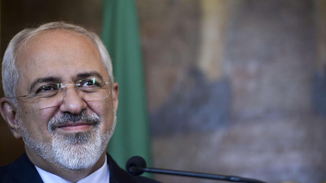 Iranian foreign minister Mohammad Javad Zarif AFP