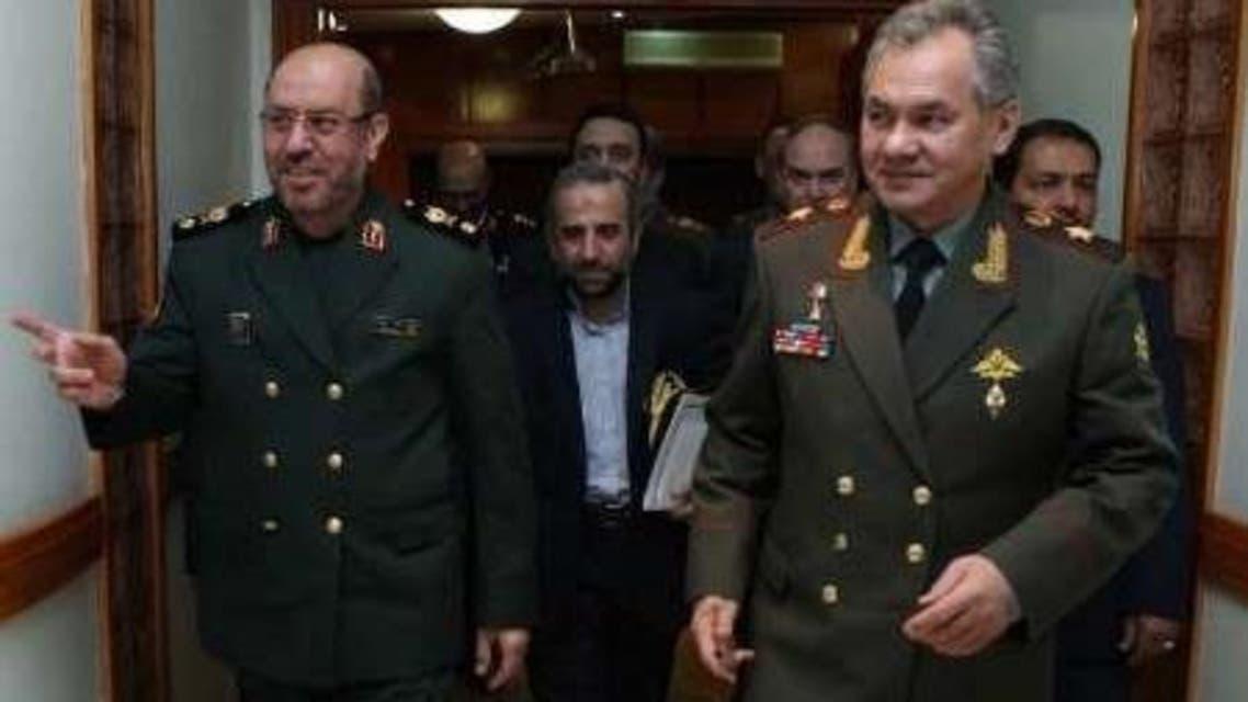 وزيرا الدفاع الروسي والإيراني