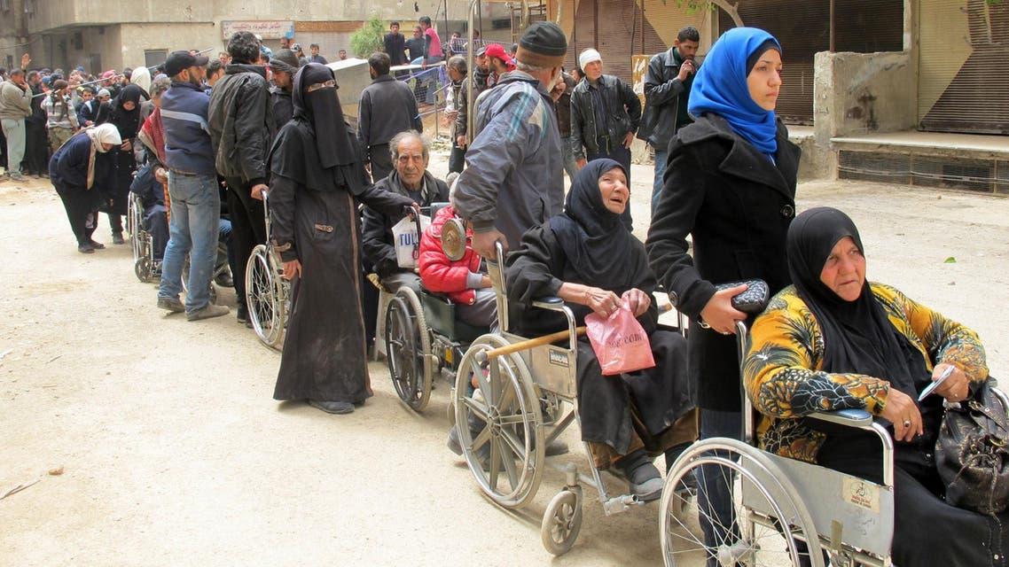 syria aid medical afp