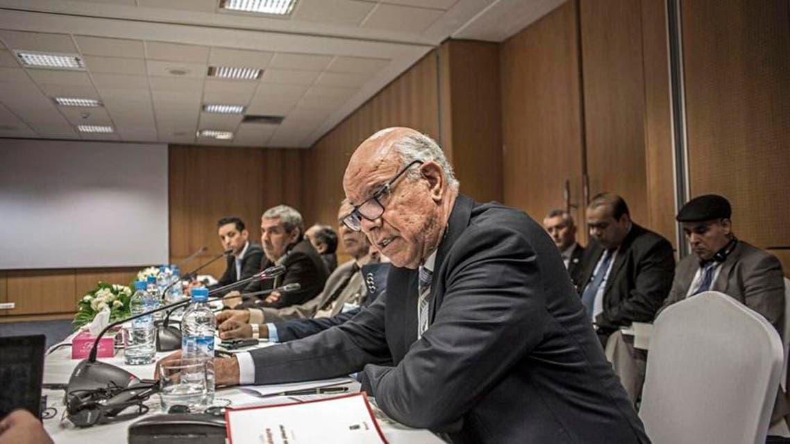 من جلسات المفاوضات الليبية في الصخيرات