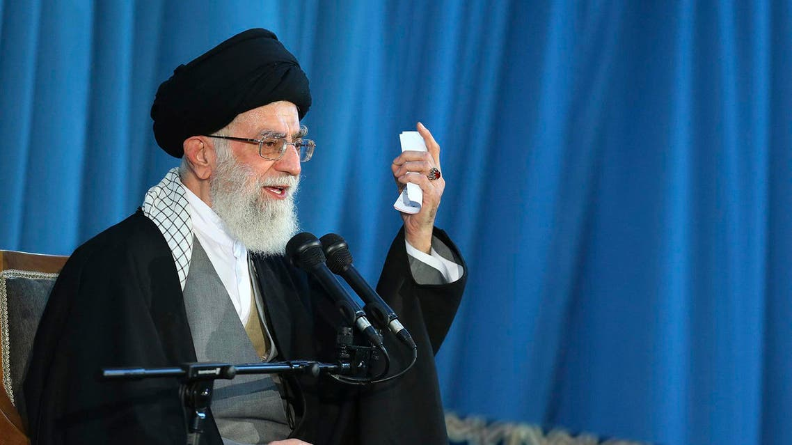 Khamenei has supported the talks but has continued to express deep mistrust of the United States. (File: AP)