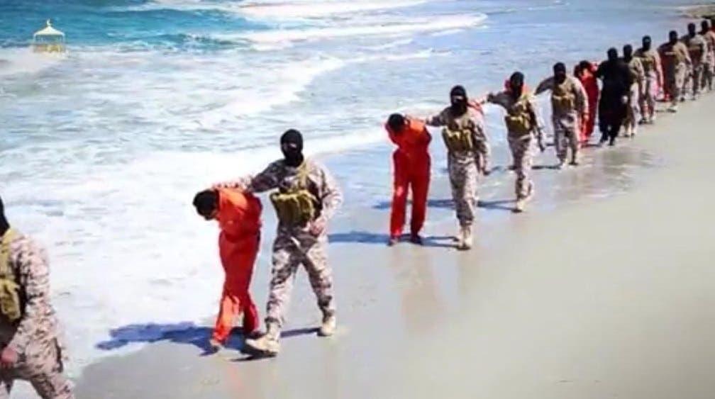 داعش يعدم إثيوبيين مسيحيين في ليبيا