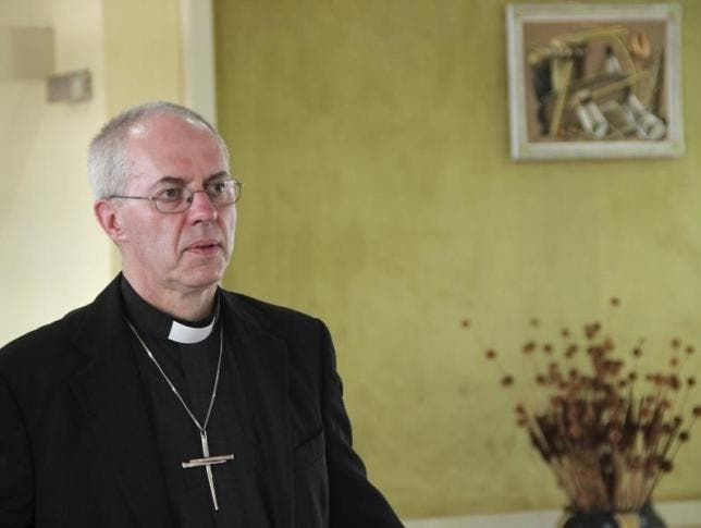 Archbishop of Canterbury Justin Welby. (Reuters)
