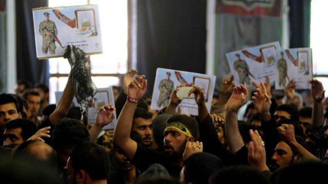 تشييع محمد جواد محمدي في كرمان