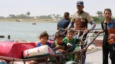 عراق :صوبہ الانبار میں 90 ہزار افراد بے گھر