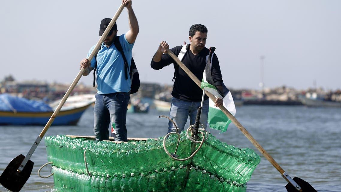 قارب غزة