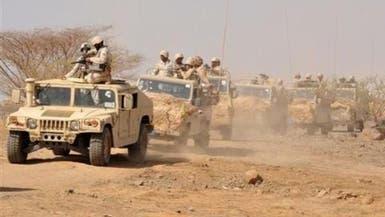 القوات السعودية تصد هجمات #الميليشيات عبر الحدود