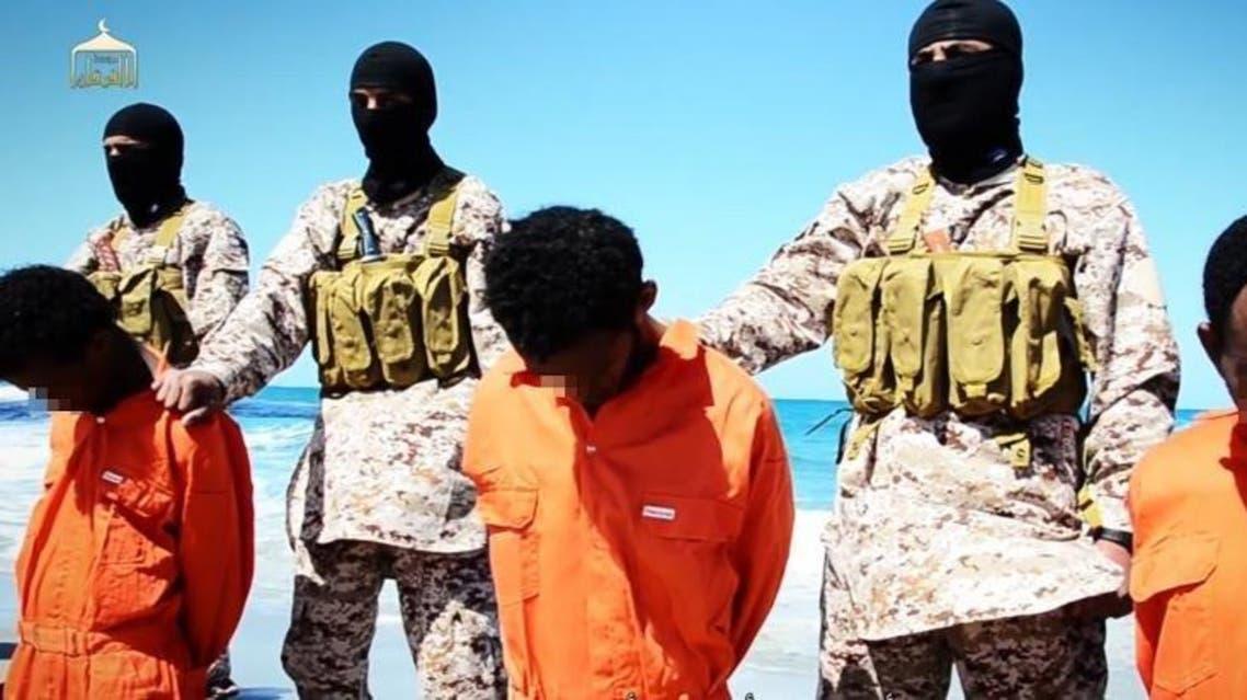isis libya video afp