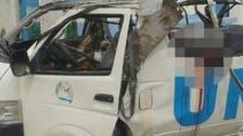 Bomb blast on U.N. bus kills at least six in Somalia