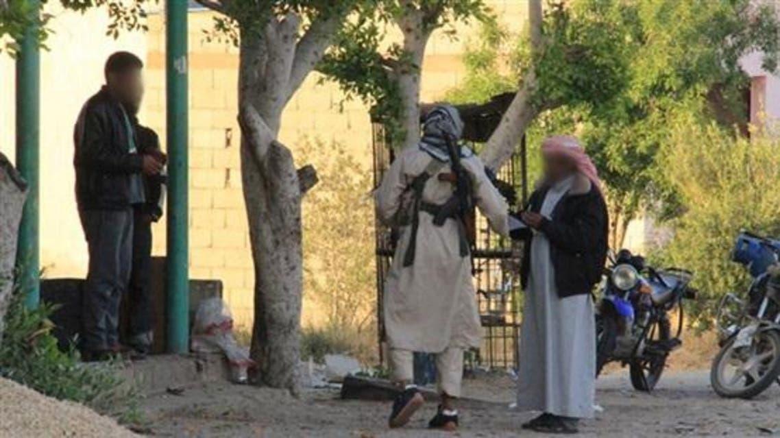 داعش مصر يوزع بيانات