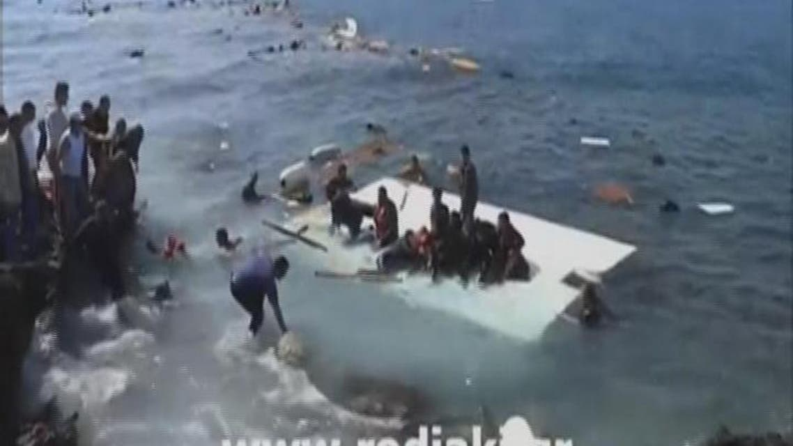 THUMBNAIL_ مقتل 300 مهاجر في غرق سفينة في المتوسط