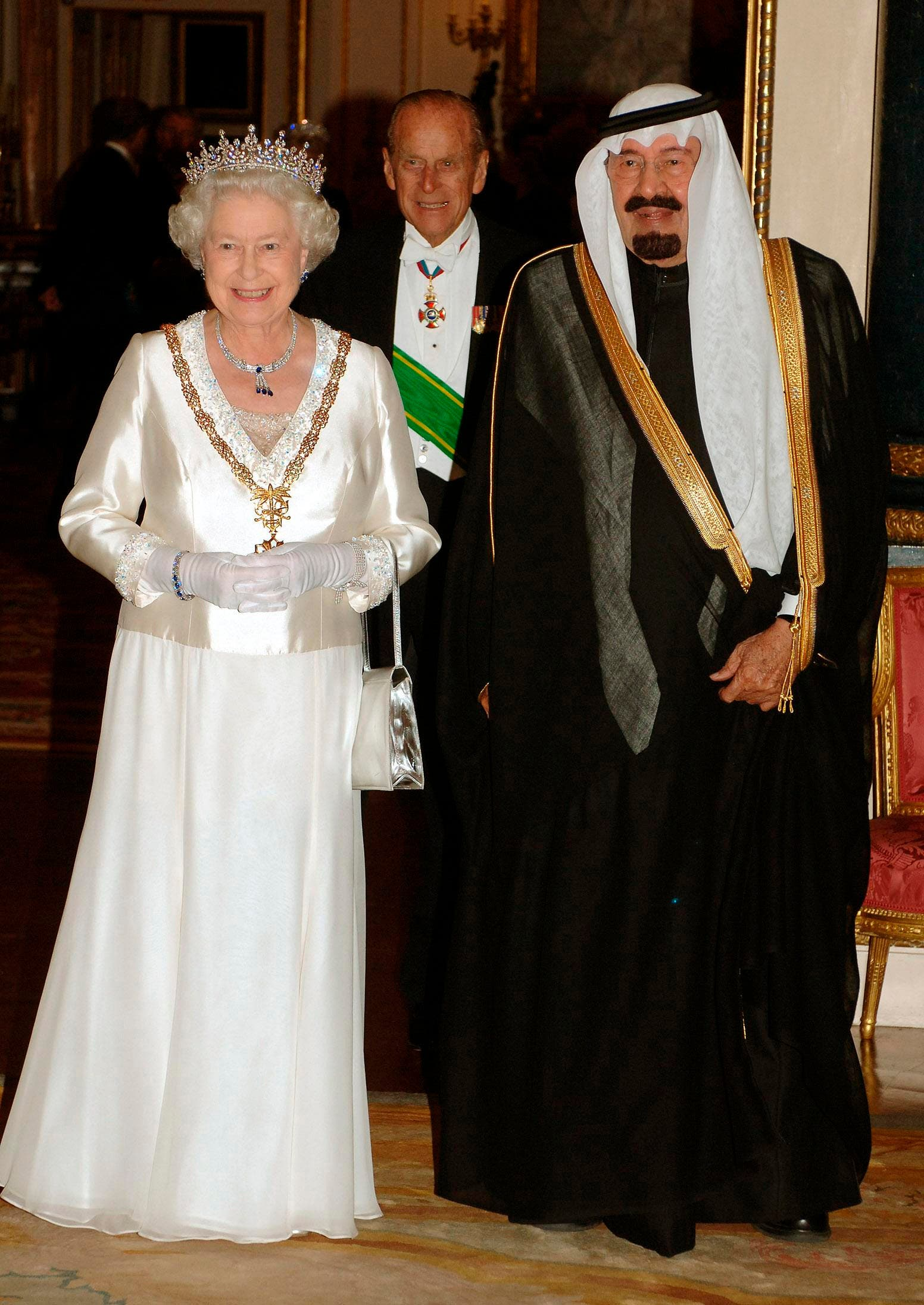 Queen Elizabeth's moments with Arab royalty