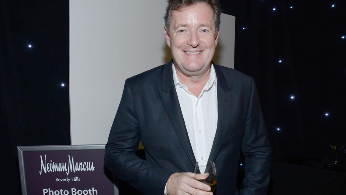 Piers Morgan attends The Hollywood Reporter Nominees Night presented by Cadillac, with Delta, Roberto Coin, and Neiman Marcus Beverly Hills at Spago on Mon. Feb. 2, 2015, in Beverly Hills, Calif. (Photo by Tonya Wise/Invision for The Hollywood Reporter/AP Images)