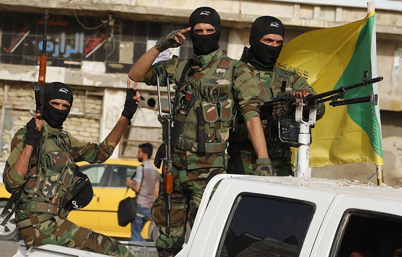 عناصر من كتائب حزب الله في العراق