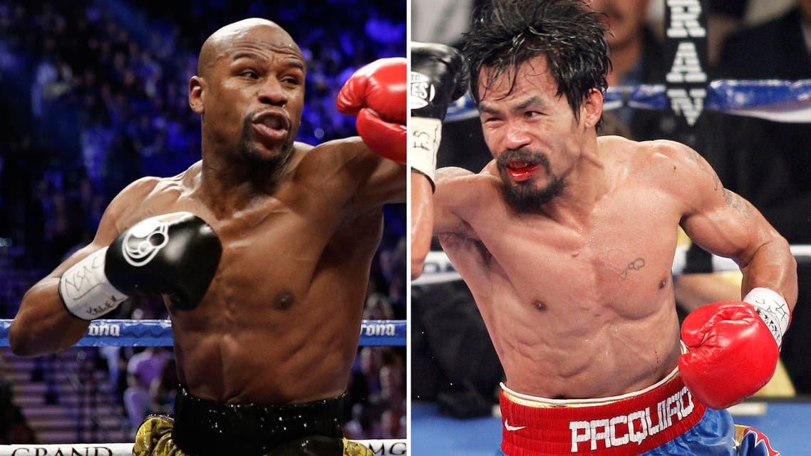 Mayweather - Pacquiao fight (AP)