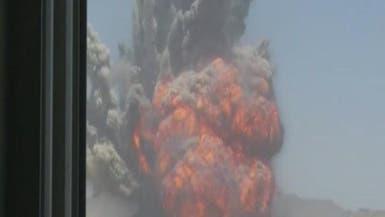 قوة الاستخبارات السعودية تقودها لأكبر مخازن #الحوثيين