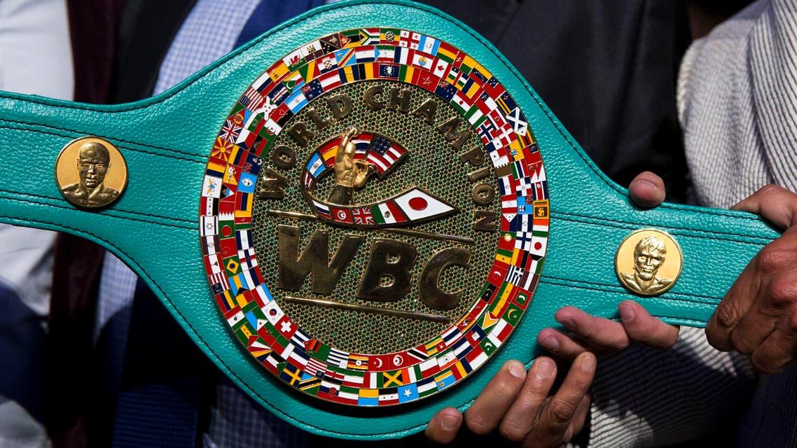 WBC diamond belt