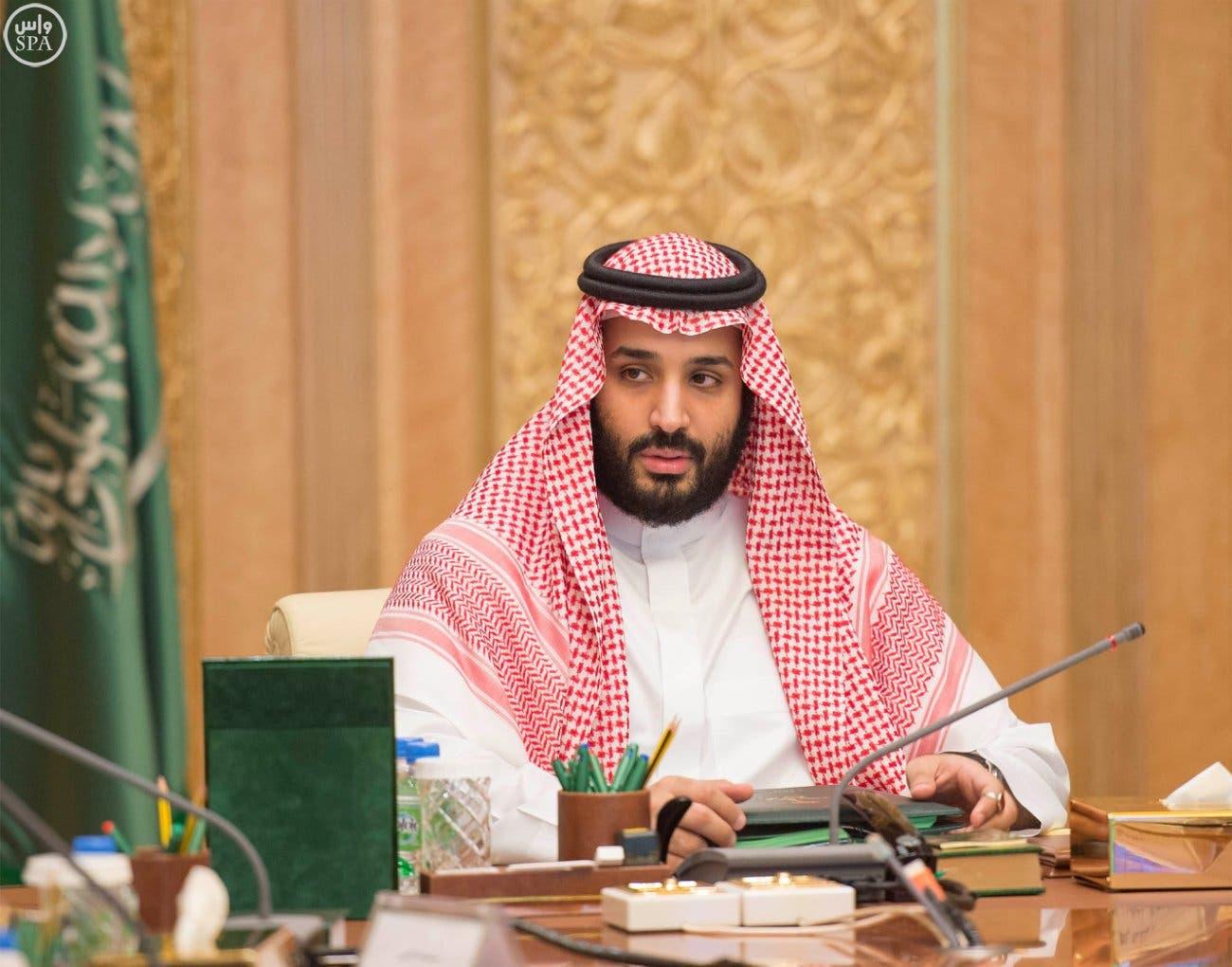نتيجة بحث الصور عن الأمير محمد بن سلمان اثناء عمله