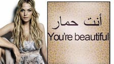 'You're a Donkey,' Lindsey Lohan mistakenly tells fans in Arabic