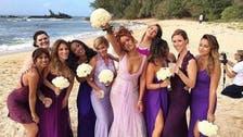 Rihanna appears as bridesmaid for assistant's Hawaiian wedding