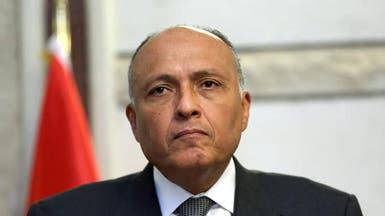 شكري: مصر لن تسمح بأي تهديد لأمن السعودية