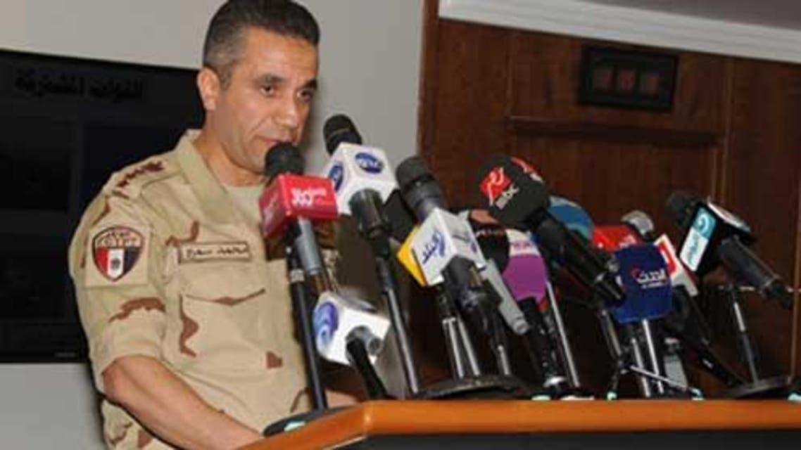 العميد محمد سمير، المتحدث العسكري المصري