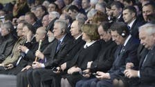 World leaders join minute's silence at Armenian genocide ceremony