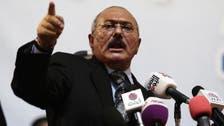 Saleh calls for political dialogue to end war