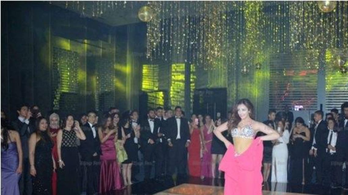 belly dancing at school prom