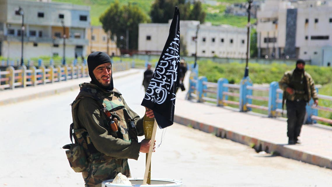 Jisr al-Shughour Reuters Nusra Front fighter