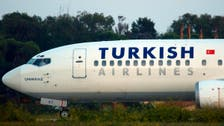 Turkish airlines plane makes emergency landing after engine fire