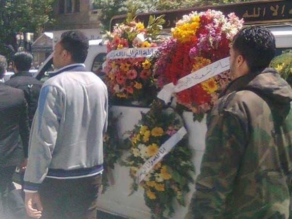 بالصور.. مراسم تشييع رستم غزالي في دمشق