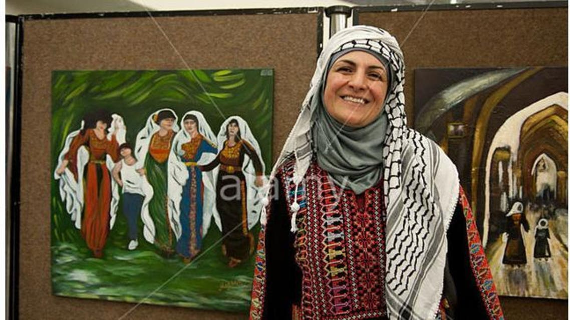 الفنانة التشكيلية الفلسطينية ميسون باكير