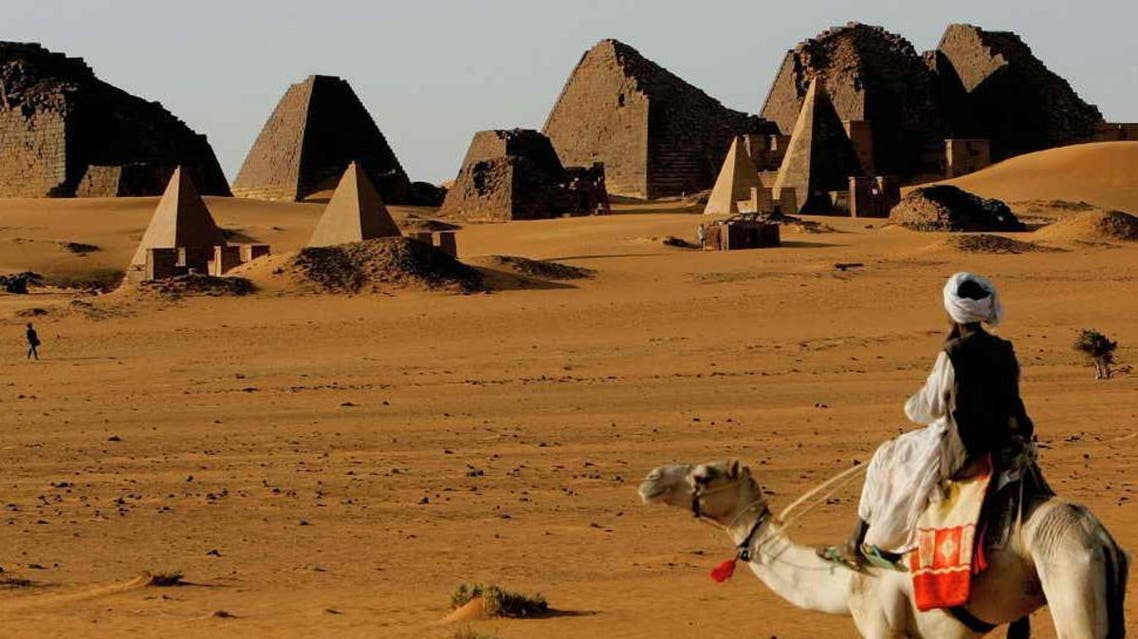 Sudan pyramid