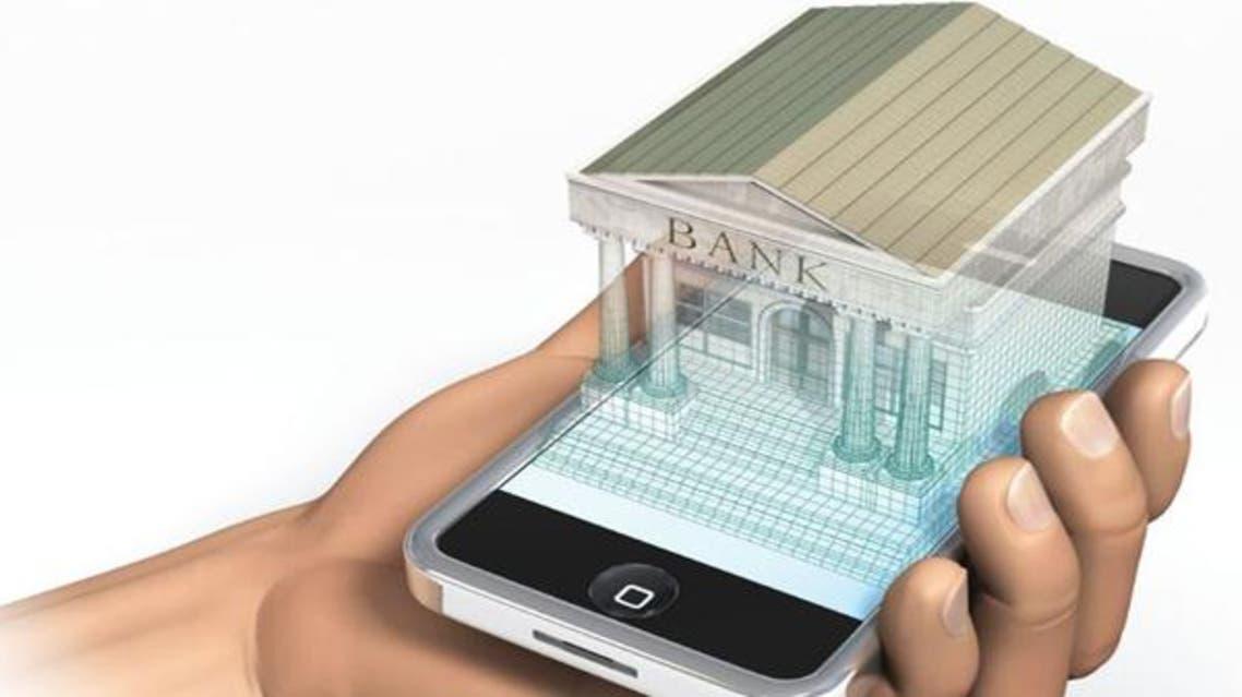 هواتف ذكية بنوك تحويل الأموال مصرفية