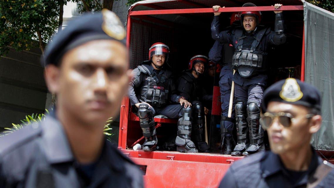 Malaysia police AP