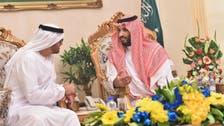 Saudi defense minister receives Abu Dhabi Crown Prince in Taif