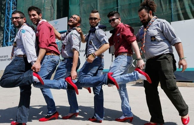 Walk a mile in her shoes beirut