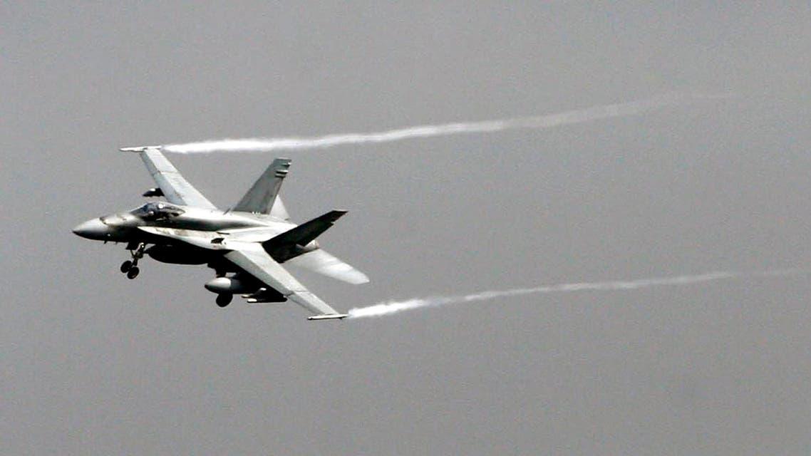 F-16 fighter jet Syria AP