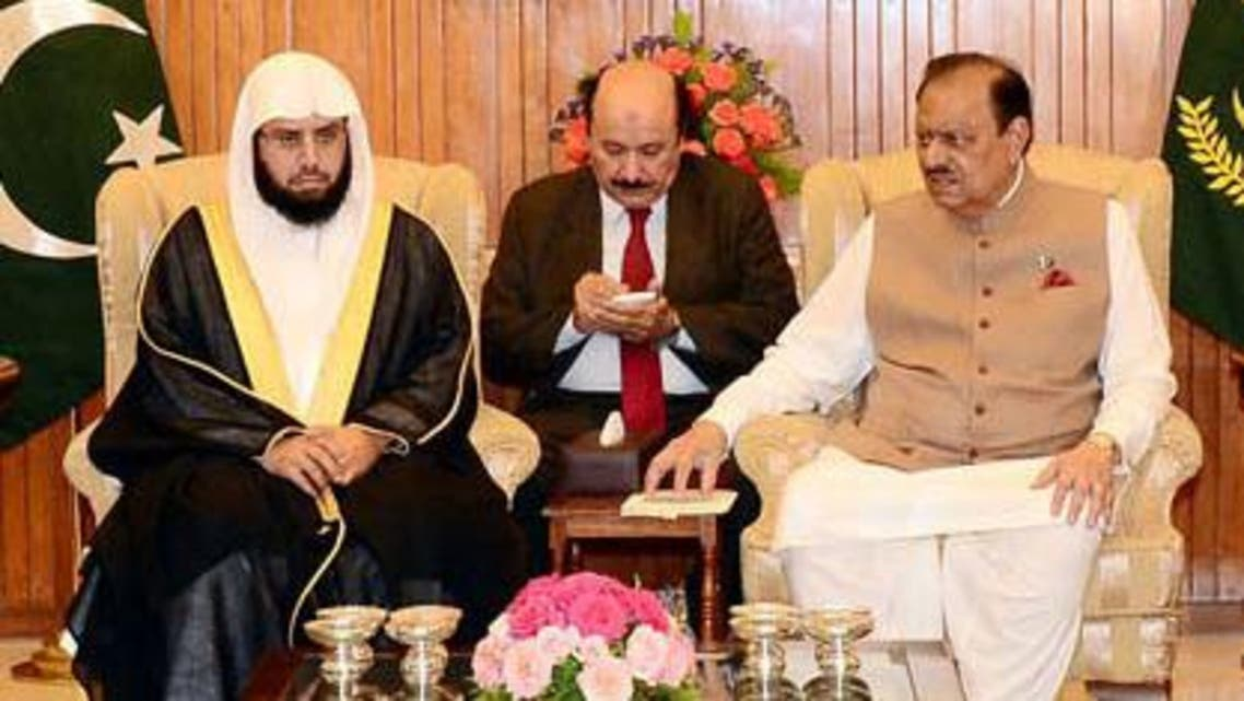 imam kabaa meeting pakistan president