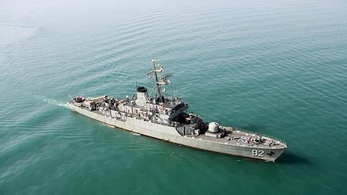 سفينة إيرانية بالقرب من خليج عدن