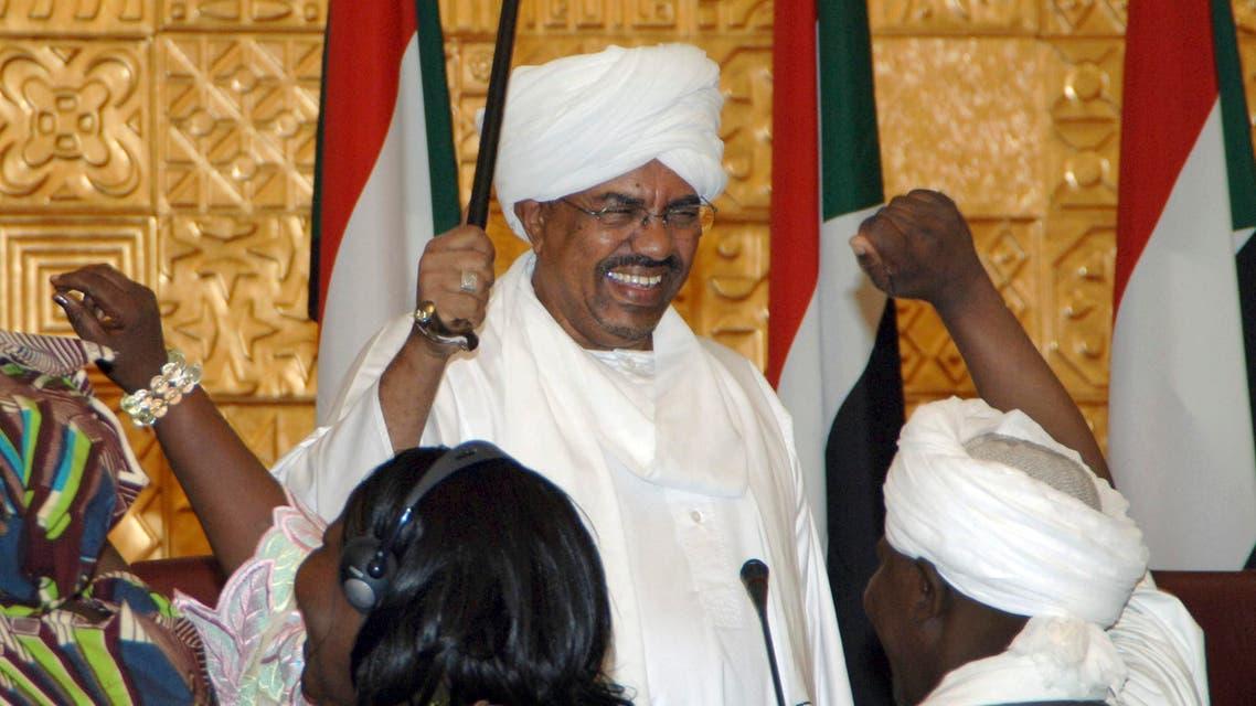 President Omar al-Bashir AP