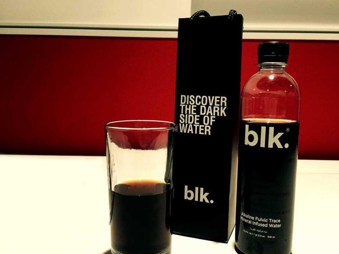 آب سیاه معدنی Blk با خواص جادویی