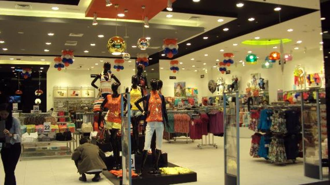 A Max outlet at the Dubai Mall, the UAE's largest shopping center (Photo courtesy of the Dubai Mall)