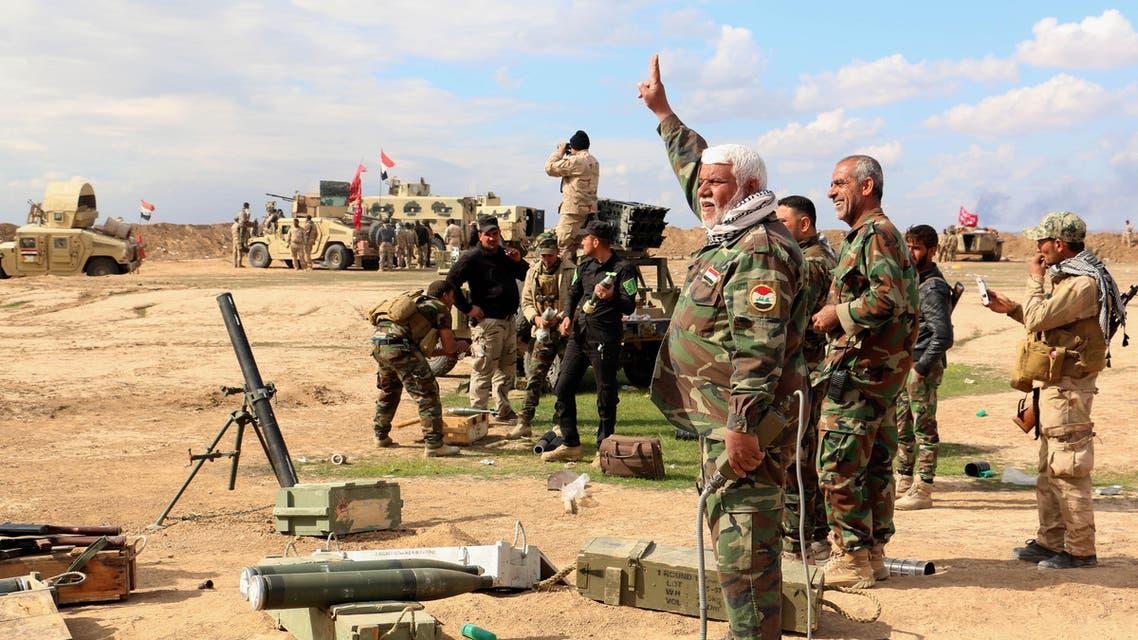 Iraqi army AP